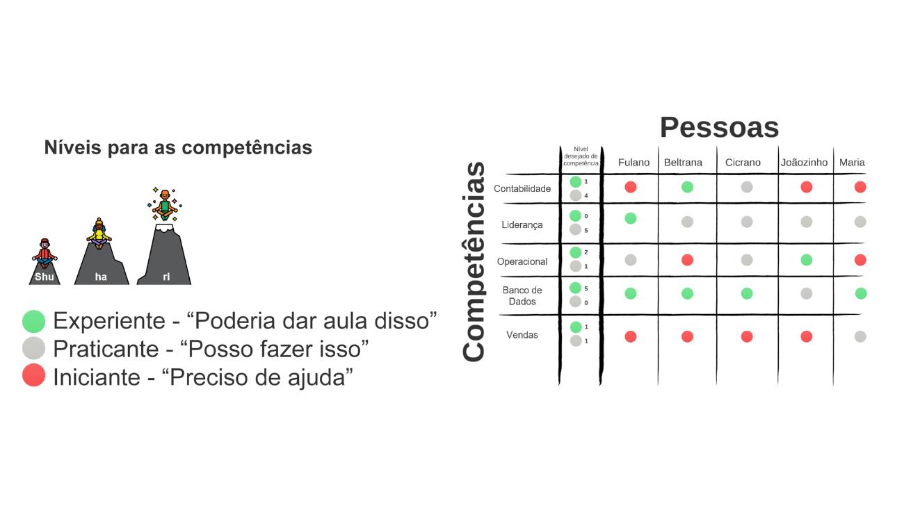 matriz de competências