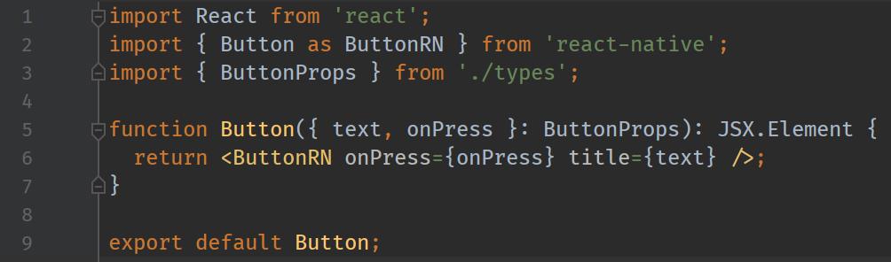 button react