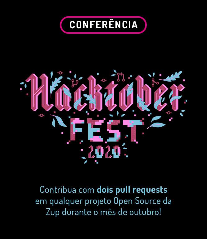 Hacktoberfest: contribua com pull requests nos nossos projetos Open Source