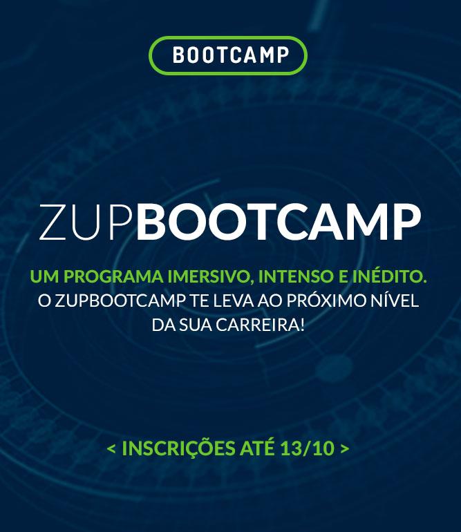 Zup Bootcamp: dê seu próximo salto profissional