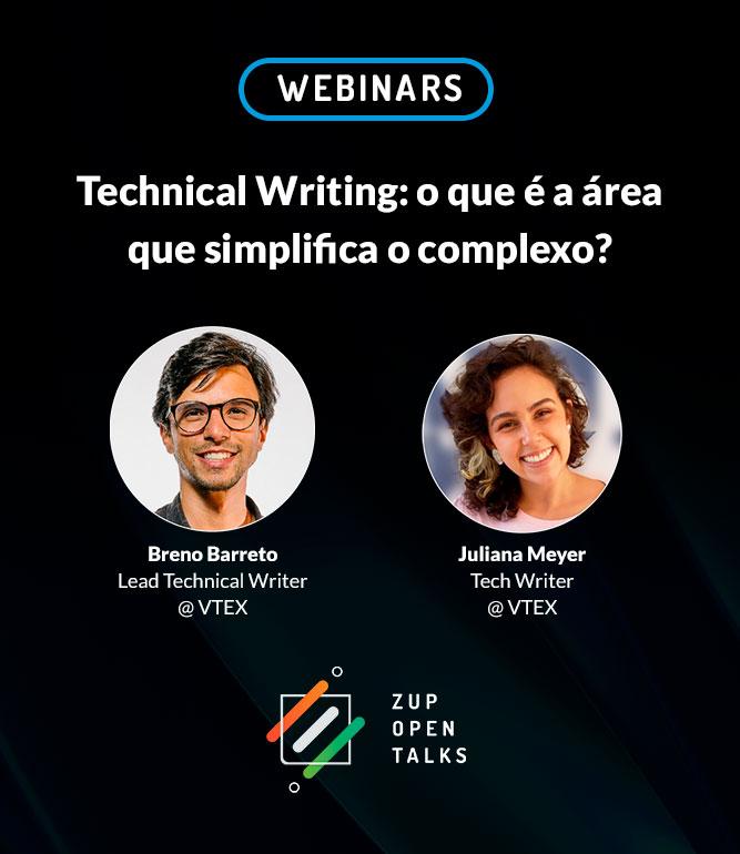 Zup Open Talks: Technical Writing – o que é a área que simplifica o complexo?