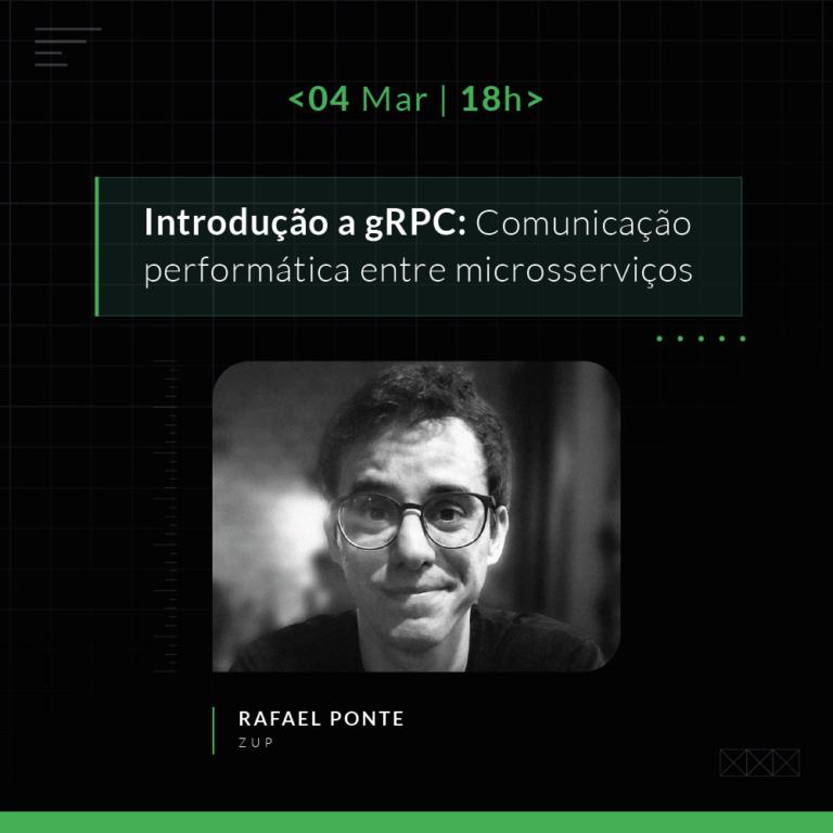 ZOT: Introdução a gRPC: comunicação performática entre microsserviços