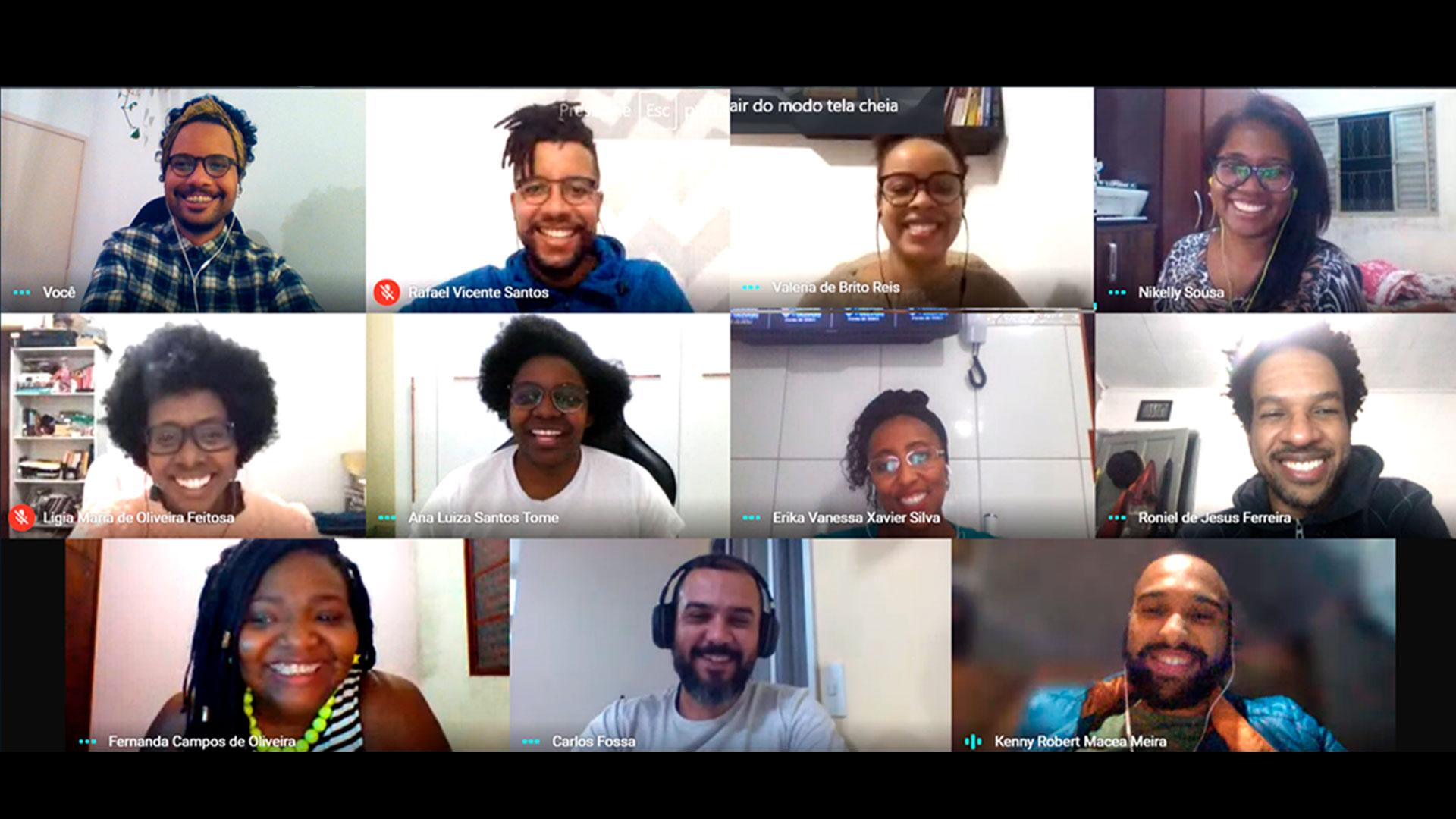 Reunião Online Wakanda