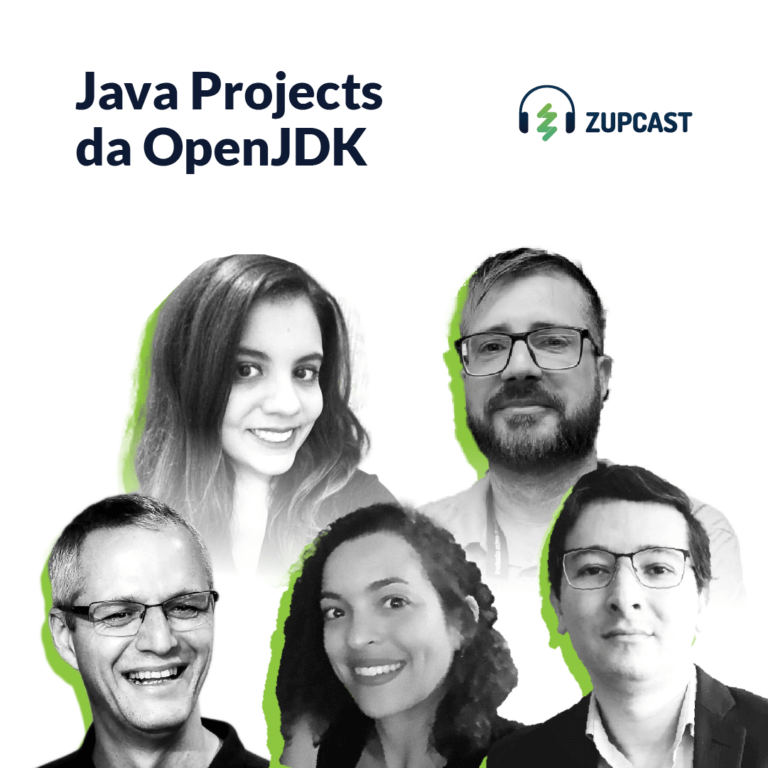 Capa do Zupcast java projects openjdk
